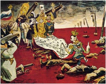 Предположите почему после смерти императора восставший народ сверг
